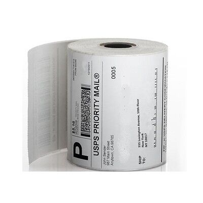 "4 Rolls 250 4""x6"" Zebra Eltron Direct Thermal Printer Shipping Labels Packing"