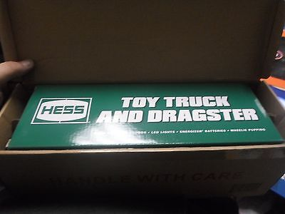 2016 Hess Truck & Dragster With Lights & Sounds Ready To Ship
