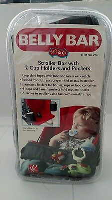 NIB J.L Childress Belly Bar with 2 Cup holders