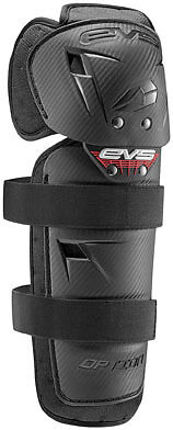 EVS Adult MX ATV Option Knee Pads (Pair) One Size Fits All Black OPTK16-BK-A