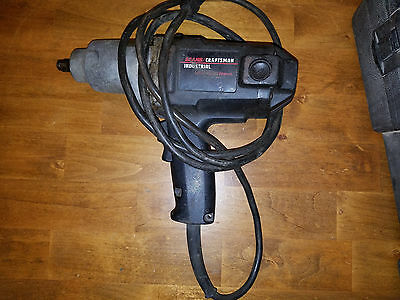 """Sears Industrial 1/2"""" Electric Impact Wrench"""