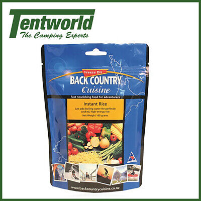 Backcountry Instant Rice Food