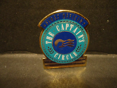 Princess Cruise Line First Officer The Captains Circle Lapel Hat Pin