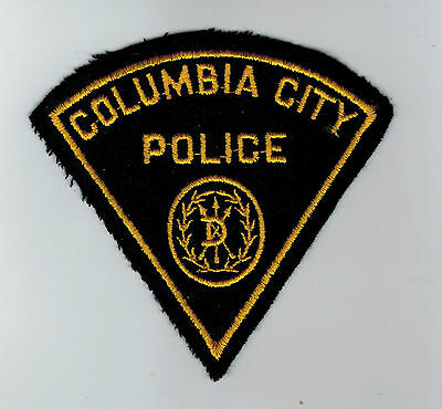 Columbia City Police patch Oregon OR