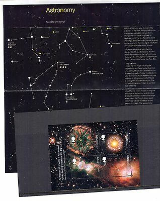 += GB UK 2002 ASTRONOMY Presentation Pack no. 339, with Mint Mini Sheet MS2315