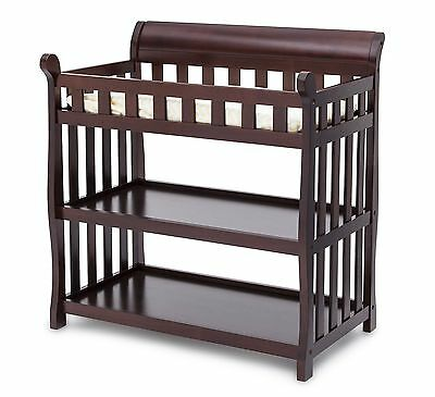 Delta Children Eclipse Changing Table, Dark Chocolate Brand New!