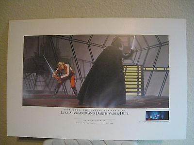 Luck Skywalker & Darth -STAR WARS- No Die-cut  proof print