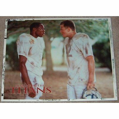 Remember The Titans movie poster print # 4 - American Football