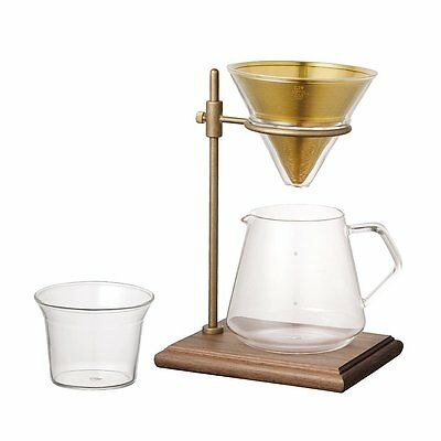 Kinto Brewer Stand Set SCS-S02 Pour Over Coffee 4 Cups Simple Cool Design Japan