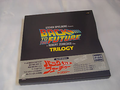 Back to the Future Trilogy LaserDisc Japan