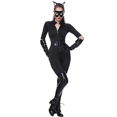 Carnevale Cosplay Costume Donna The Dark Knight Rises Catwoman Batman Catsuit