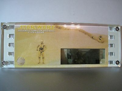 STAR WARS #10818 Authentic 70mm Film Cell-C-3PO EDITION