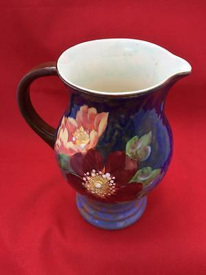 Vintage Royal Doulton Large Jug in the Wild Rose Pattern approx 18cm High