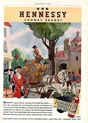 1936 Hennessy Cognac French Brandy Revolution Brewery6317