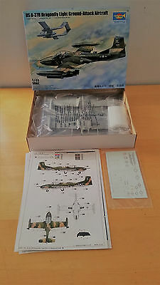 Trumpeter 1/48 Us A-37B Drafonfly - 02889