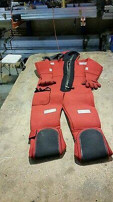 Immersion Suit 6mm Neoprene Solas Rated
