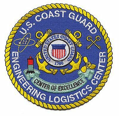 Engineering Logistics Center Baltimore Maryland W3834 USCG Coast Guard patch
