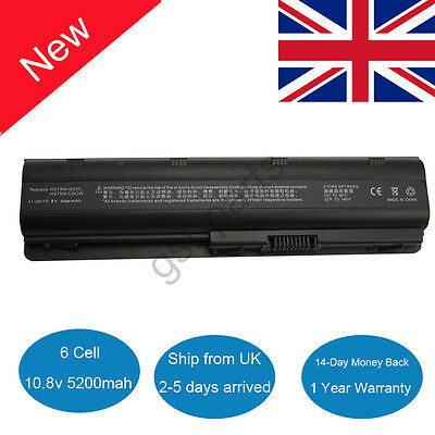 Battery 593554-001 for HP Compaq MU06 MU09 CQ32 CQ42 CQ56 CQ62 G42 G56 G62 G72