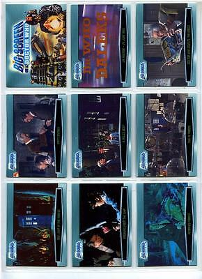 Doctor Who Big Screen - Complete 100 Card Base Set - Strictly Ink - 2003