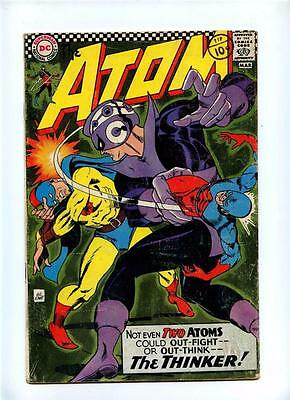 Atom #29 - DC 1967 - VG+ - 1st Solo Golden Age Atom X-Over in Silver Age