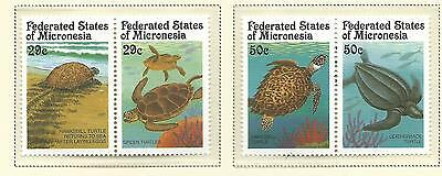 1991 Turtles Set of 4 stamps Complete  MUH Value Here