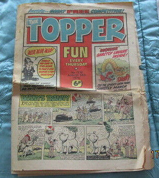 Topper Comic No 1230 August 28th 1976.