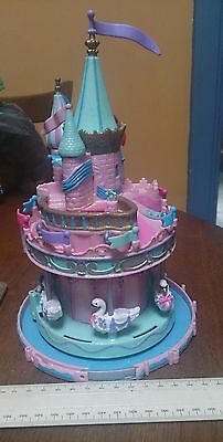 Polly Pocket PRINCESS CASTLE CAROUSEL FAIR Merry Go Round 1996 Trendmasters TOY