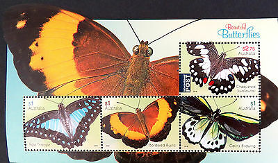 Australian Decimal Stamps: 2016 Butterflies Mini Sheet MNH