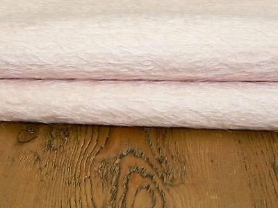 1/16 metre of German Antique Style Mohair Pale Pink