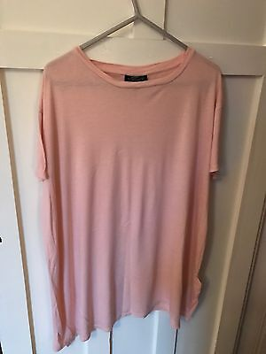 Topshop Maternity Pink T Shirt Top In Store 12