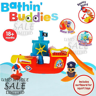 Pirate Ship Kids Sand And Water Table Toy Beach Sandpit Garden Play Set Bucket