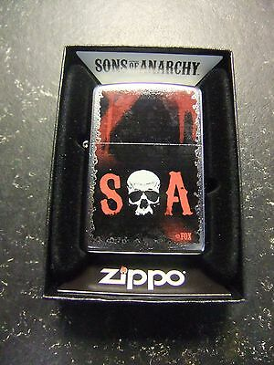 Zippo Lighter ~ Sons Of Anarchy
