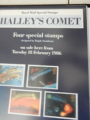 Collection of Royal Mail Special Stamps Posters  (1983-1992 )