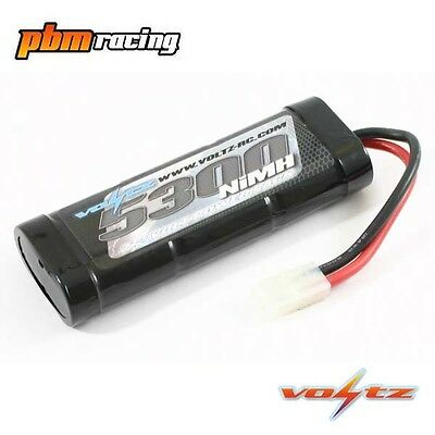 Voltz 5300mah 7.2v NiMH RC Stick Pack Battery With Tamiya Connector - VZ0025
