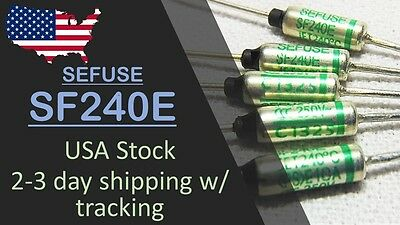 USA Stock, Fast ship - 5 pcs SF240E SEFUSE NEC Thermal Fuse 240°C 10A 250V