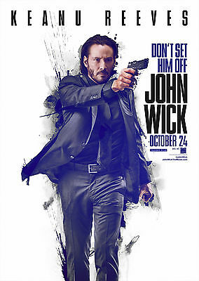 John Wick (2014) V2 - A1/A2 POSTER **BUY ANY 2 AND GET 1 FREE OFFER**