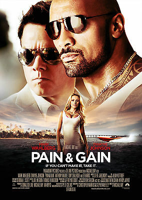 Pain and Gain (2013) V3 - A1/A2 POSTER **BUY ANY 2 AND GET 1 FREE OFFER**