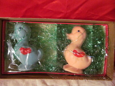 2 Vintage Duck Soap Easter Duck Soap