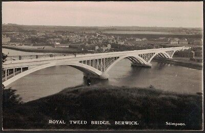 Royal Tweed Bridge, Berwick, Northumberland Rp.