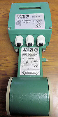 Isoil Isomag MS1000-P50-1A2A Electromagnetic Flow Meter & ML110 Converter