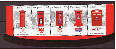 Malaysia 2011 Post, Mailboxes ,Communication set mint stamps