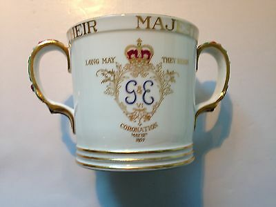 Superb 1937 Commemorative Loving Cup for the Coronation of King George VI