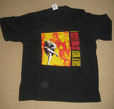 Guns N roses Promo Shirt L Use your Illusion 1 Pas ticket
