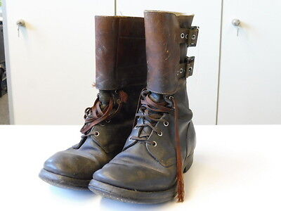 US Army WWII, Boots, Service, Combat. Used pair, guaranteed original