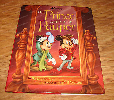Disney's The Prince &the Pauper (Mickey Mouse) Hard Cover, 1993 First Edition