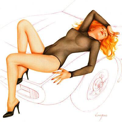 """Album Covers - The Cars - Candy-O (1979) Album Cover Poster  24""""x 24"""""""