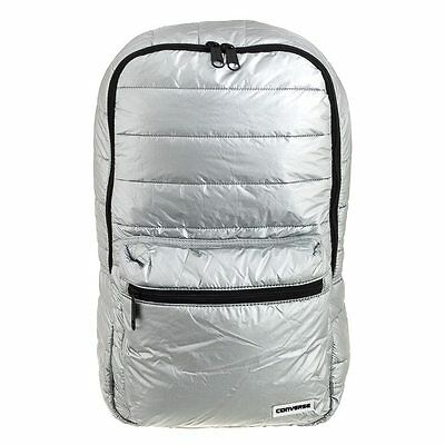 Converse Metallic Packable Backpack - Silver - RRP £35