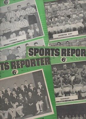 Three copies of Sport Reporter from 1949