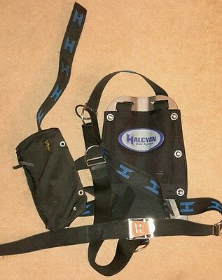 Scuba Diving Halcyon Backplate and Harness