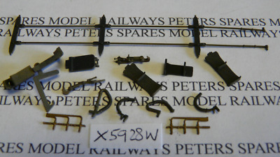 Hornby X5928W Stanier 4MT 2-6-4T Accessory Detail Pack Weathered